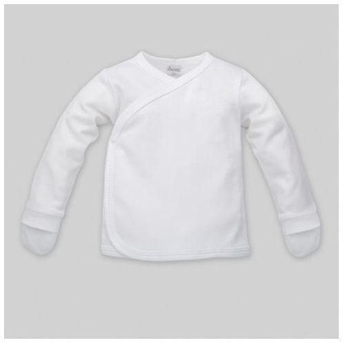 Kaftanik wiązany z łapkami, white / biały, marki Pinokio