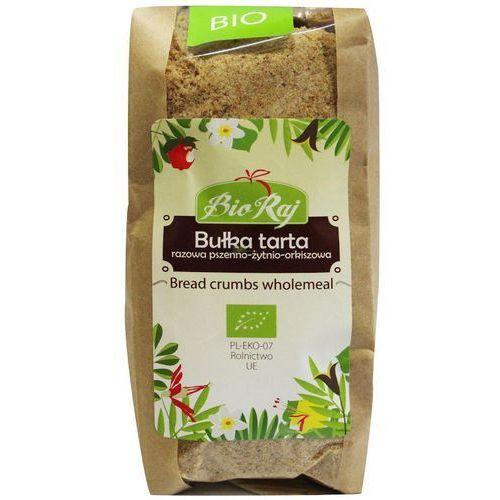 Bułka tarta razowa pszenno-żytnio-orkiszowa bio 250 g bio raj marki Bio raj (konfekcjonowane)