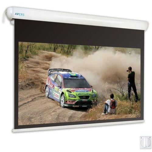 Ekran elektryczny 300x169cm stratus 2 30/17 - matt white marki Avers