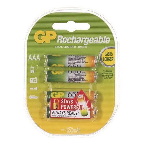 Akumulatory GP ReCyko+ 65AAAHCN-GB4 650 mAh (4891199043154)
