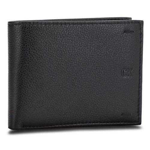 a5eb7126c6287 Duży portfel męski - pebbled leather billfold w coin k40k400665 001 marki  Calvin klein jeans