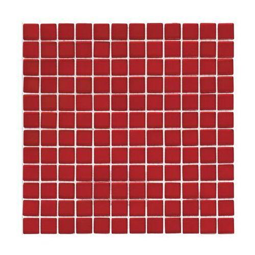 Mozaika szklana Rosso