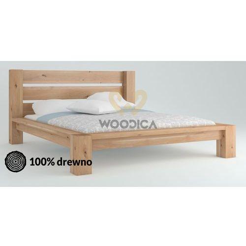 Woodica Łóżko dębowe imperata 05 140x200