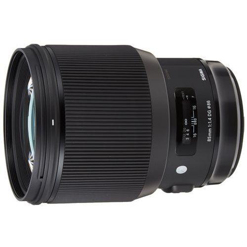 Sigma A 85mm f/1.4 DG HSM Canon - produkt w magazynie - szybka wysyłka! (0085126321543)