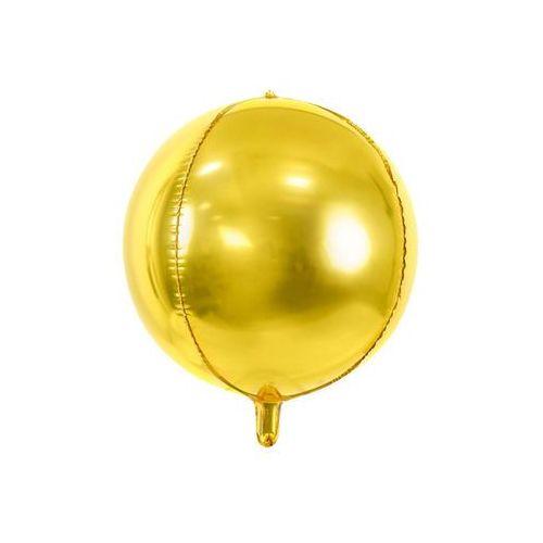 Party deco Balon foliowy kula złoty - 40 cm - 1 szt. (5902230788466)