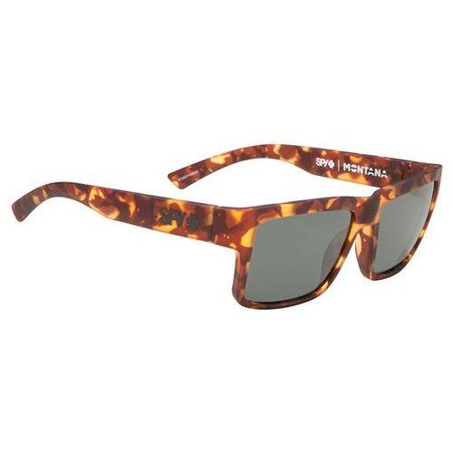 Okulary słoneczne montana polarized soft matte camo tort - happy grey green marki Spy