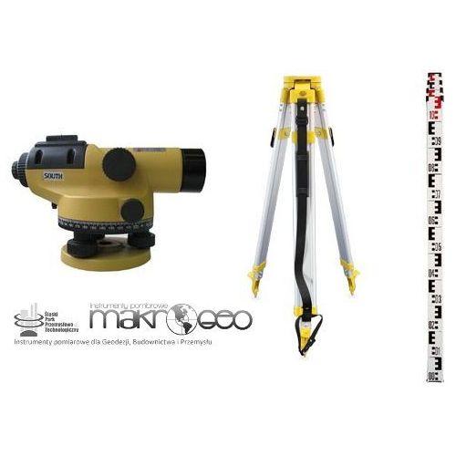 Niwelator optyczny SOUTH NL-C32 Zestaw + statyw + łata + taśma GRATIS (niwelator)