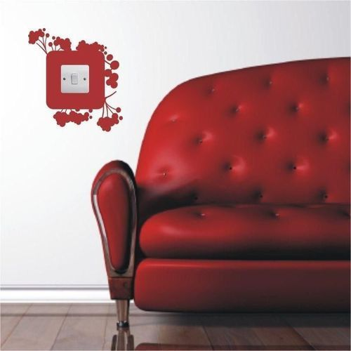 Wally - piękno dekoracji Naklejka pod kontakt 1081
