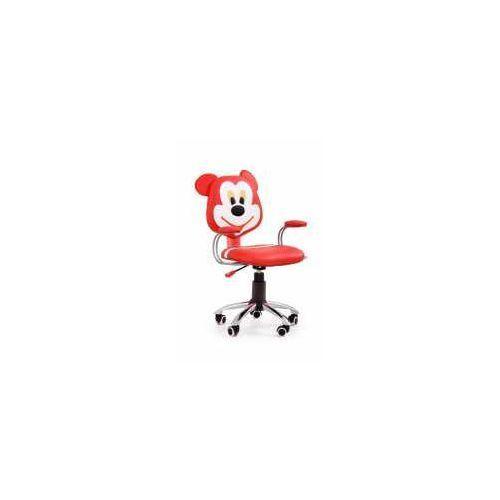 Fotel mike czerwono-kremowy - zadzwoń i złap rabat do -10%! telefon: 601-892-200 marki Halmar