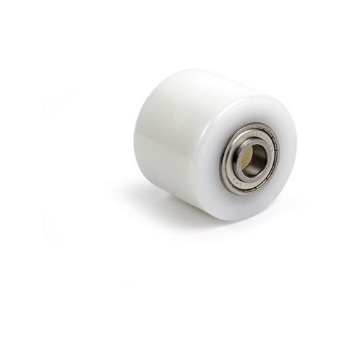 Rolka widłowa, poliamid, dł. mocowania 74 mm. Z poliamidu, z metalowym rdzeniem.