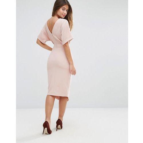ultimate pencil dress - pink marki Asos