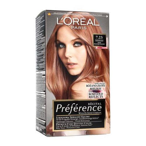 Loreal farba recital preference 7.23 blond opalizująco złocisty 1op. (3600523577644)