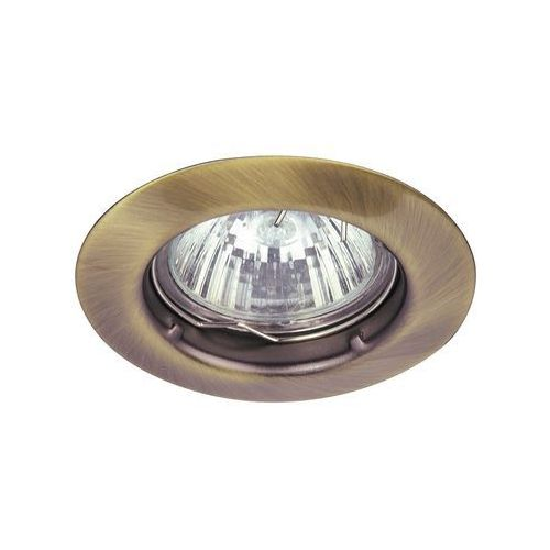 Oczko lampa sufitowa oprawa wpuszczana Rabalux Spot relight 1X50W GU 5.3 brąz 1090 (5998250310909)