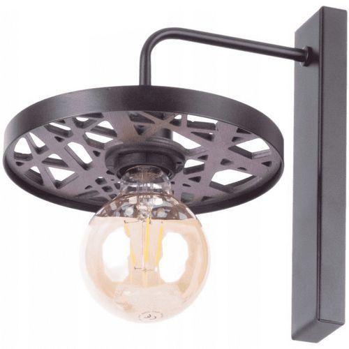 Sigma Magnum Ażur Koło 31736 kinkiet lampa ścienna 1x60W E27 czarny (5902846818724)