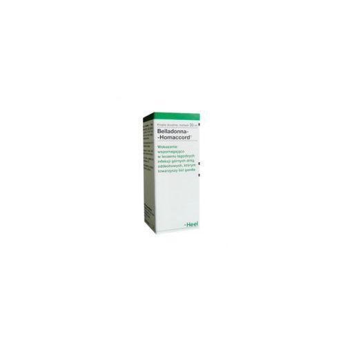 HEEL BELLADONNA HOMACCORD KROPLE, 30ML - krople homeopatia