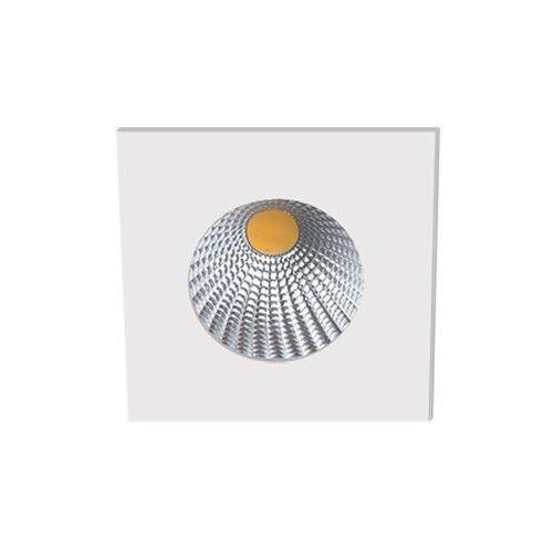 Oczko kwadratowe su 3223 polerowane aluminium led 29d ip65, 3223.01 marki Bpm lighting