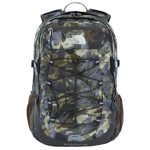 Plecak borealis classic - green tropical camo/new taupe green marki The north face