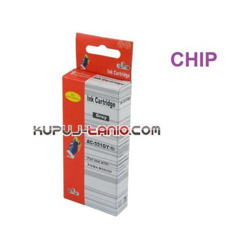 tusz CLI-551GY XL (z chipem, Arte) do Canon MG7150, MG7550, MG6350, iP8750 (6959080033689)