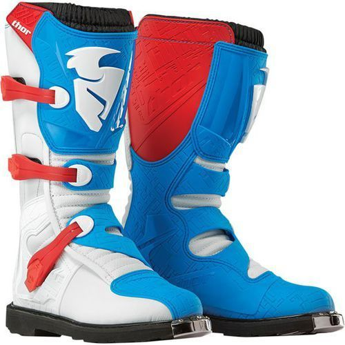 Thor Buty męskie blitz red / blue 2016 + gratis skarpety thor mx sock