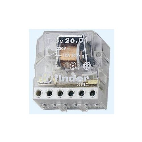 Przekaźnik impulsowy 1NO 10A 230V AC 26.01.8.230.0000