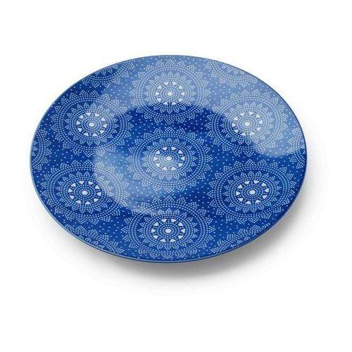 Mondex Talerz deserowy marocco blue na ciasto maroko
