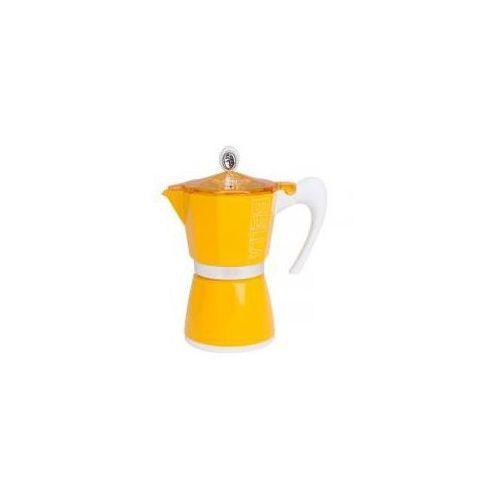 Kawiarka G.A.T Bella 6 tz żółta (8007126001104)