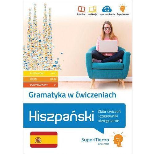 Gramatyka w ćwiczeniach. Hiszpański. Zbiór ćwiczeń i czasowniki nieregularne. (240 str.)
