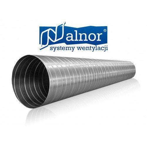 Alnor Kanał spiro (rura) z blachy ocynkowanej 0,4mm (3mb) 100mm (spr-c-100-040-0300)