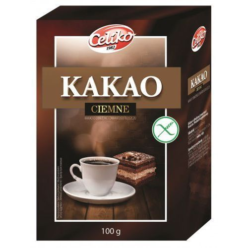Celiko Kakao bezglutenowe 100 g (5900038004139)