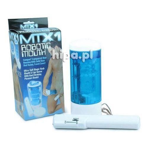 Automatyczny żelowy masturbator mtx1 robotic mouth system korali góra-dół 115844 marki Sevencreations