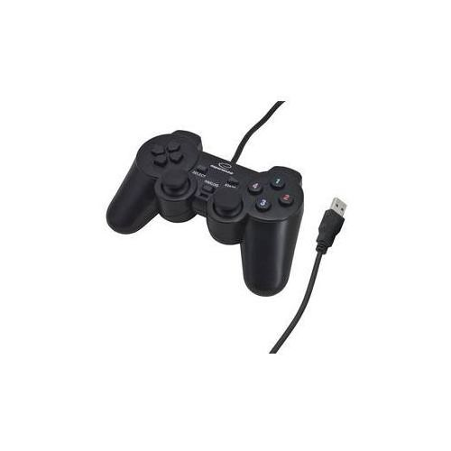 Gamepad Esperanza EG102 Warrior pro PC, PS3 (EG102) Czarny