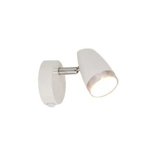 Kinkiet lampa oprawa ścienna spot Rabalux Karen 1x4W LED biały / chrom 6666