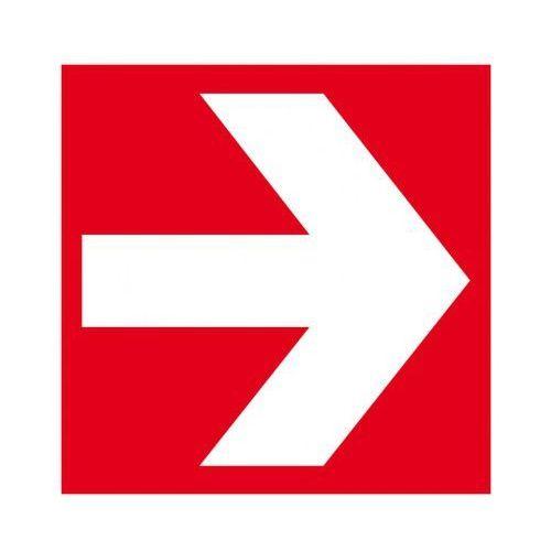 Kierunek do miejsca umieszczenia sprzętu pożarniczego marki B2b partner