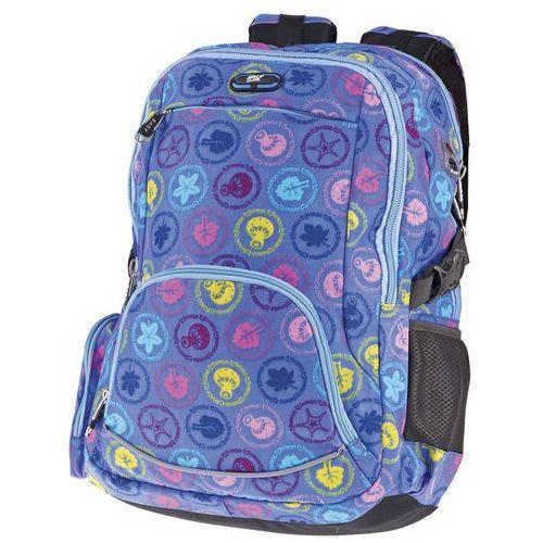 Plecak szkolno-sportowy SPOKEY 838001 Fioletowy, kolor fioletowy
