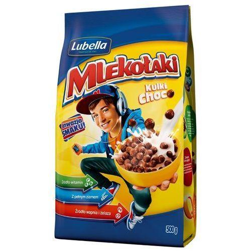 Lubella  500g mlekołaki kulki choco zbożowe chrupki o smaku czekoladowym (5900049004487)