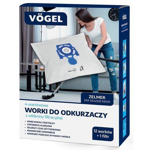 Worki do odkurzacza VÖGEL KM 49.4020 (13 sztuk)
