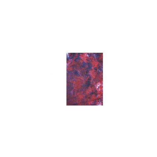 TŁO GNIECIONE 2,7x2,9m BATIK-red-white-black z kategorii tła fotograficzne