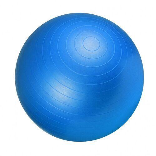 55cm Piłka Fitness Gimnastyczna rehabilitacyjna Gorilla Sports niebieska, 100490-00030-0059