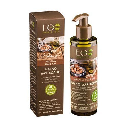 Eclab - wzmacniający arganowy olejek do osłabionych i łamliwych włosów marki Eo laboratorie
