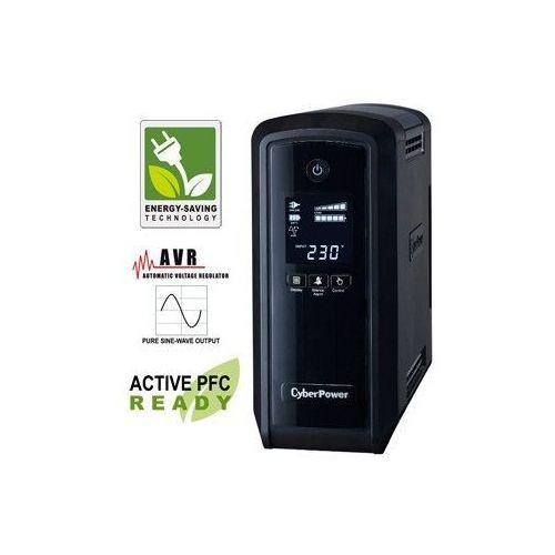 Cyber power Zasilacz ups 900va/540w avr panel lcd greenpower ups