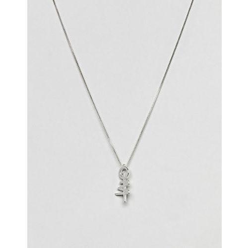 Cheap Monday Hacker Necklace - Silver
