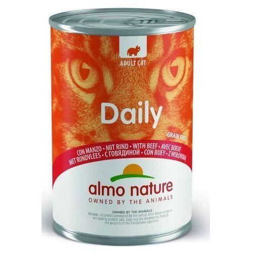 Almo Nature Daily z wołowiną 400g