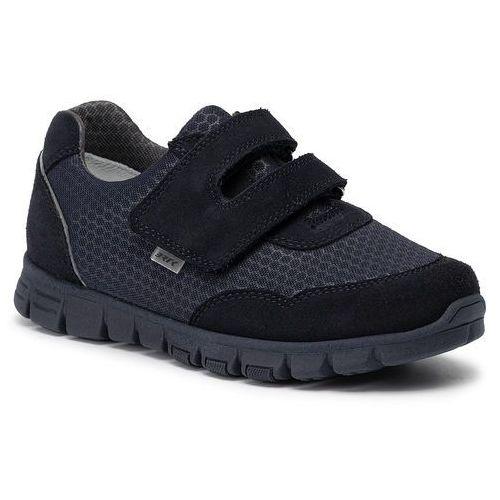 Sneakersy BARTEK - W-68789/SZ/88F Granatowy, kolor niebieski