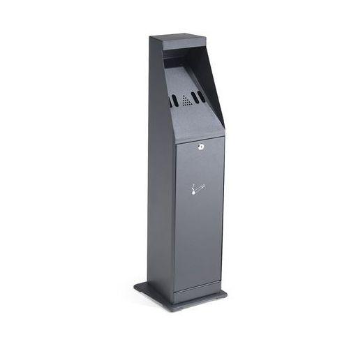 Popielnica wolnostojąca Grant 880x240x240 mm 4.4L czarny