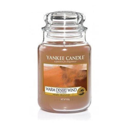 Świeca YANKEE słoik duży Warm Desert Wind - YSDWDW (5038581033716)