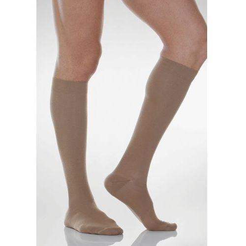 Podkolanówki uciskowe męskie Cotton Socks 820: rozmiar - 2, kolor - beżowy