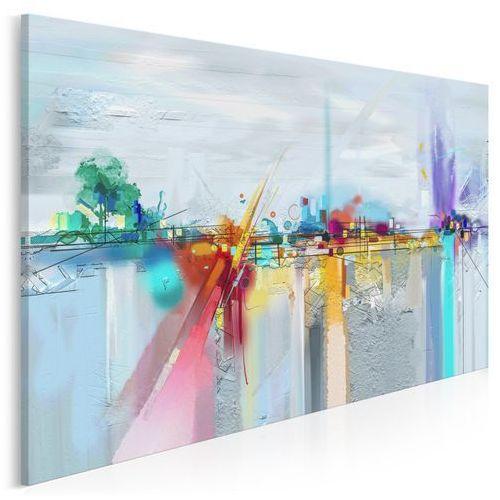 Hydrosfera - nowoczesny obraz do salonu - 120x80 cm marki Vaku-dsgn