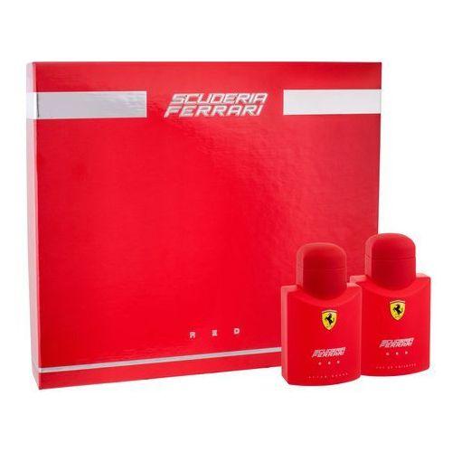 Ferrari Scuderia Ferrari Red zestaw Edt 75 ml + 75 ml Płyn po goleniu dla mężczyzn, 36727