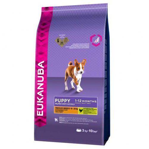 Eukanuba  puppy medium breeds 15kg