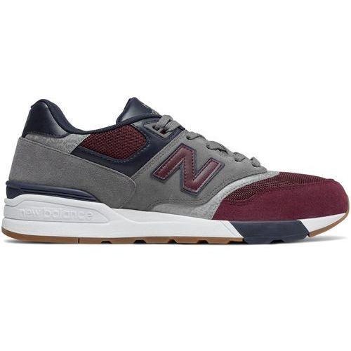 Buty sneakersy ml597bgn, New balance, 40.5-44.5